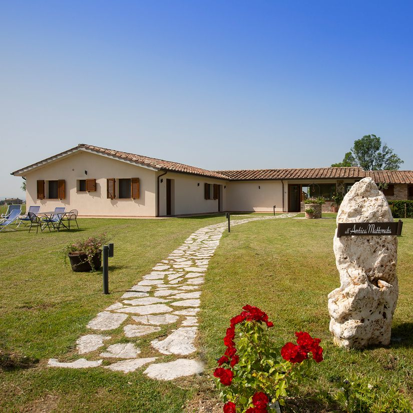 Agriturismo All'Antica Mattonata Assisi bed and breakfast per vacanze in famiglia