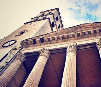 Assisi, Tempio di Minerva in piazza del Comune