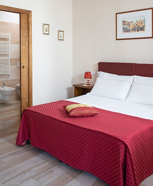 Camere Assisi in agriturismo con trattamento bed & breakfast