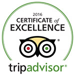TripAdvisor 2016 Certificate of excellence Farm Holidays All Antica Mattonata