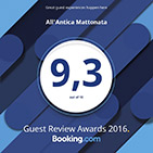 booking awards 2016 all antica mattonata