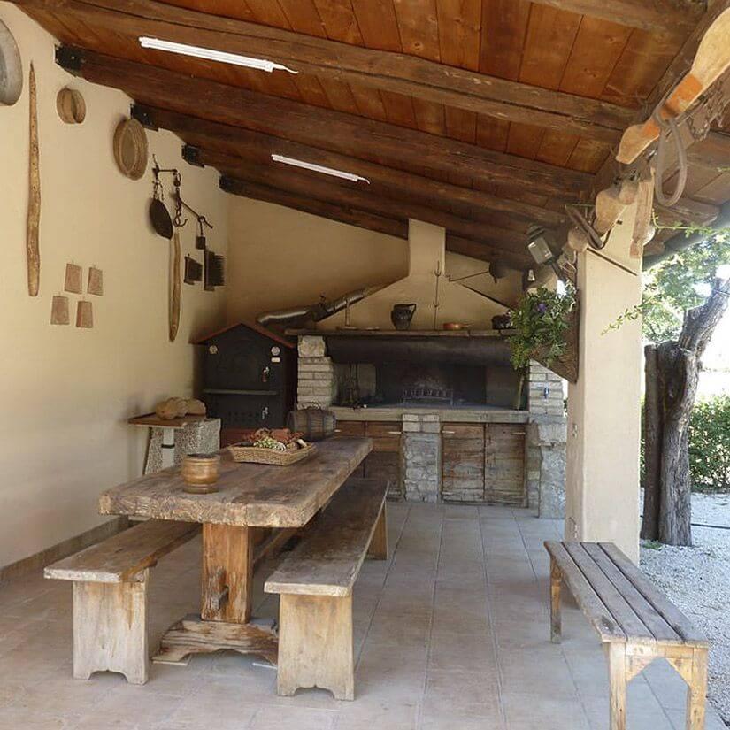 I servizi all 39 antica mattonata agriturismo e b b in assisi for Camino all aperto progetta i piani