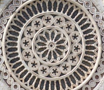 Rosone della basilica di san Francesco di Assisi