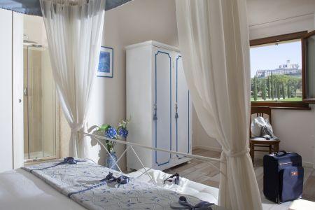 Bnb camera con bagno 4 posti letto in Agriturismo