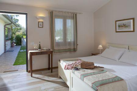 Assisi bnb camera doppia con bagno in Agriturismo