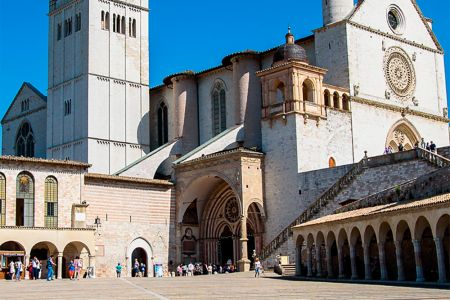 Assisi the Basilica of Saint Francis