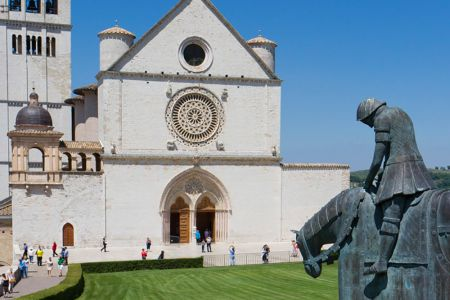 The upper Basilica of Saint Francis of Assisi