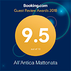 booking awards guest review 2018 all antica mattonata