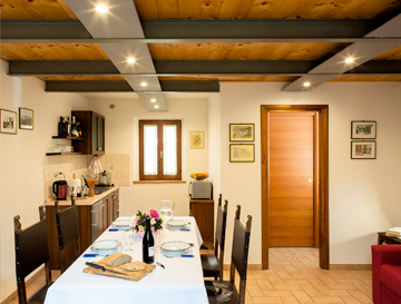 Holiday apartments for families with loft, equipped kitchen, garden, barbecue