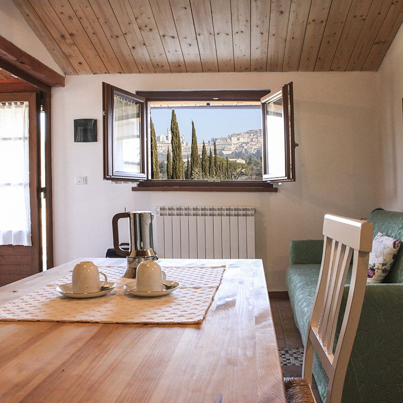 Farmhouse garden apartments for relaxing holidays in Umbria